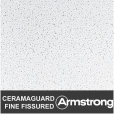 Подвесной потолок Армстронг CERAMAGUARD FINE FISSURED (100 RH)